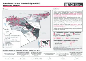 Humanitarian Situation Overview in Northeast Syria - August 2019