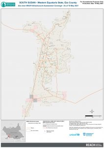 REACH SSD Map WASH Infra Ezo Town Assessment Coverage May202
