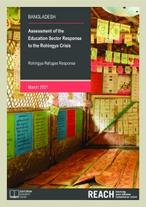 Assessment of the Education Sector Response to the Rohingya Crisis, thematic briefs, Bangladesh - March 2021