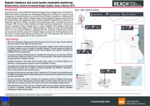 KEN_Situation Overview_Dadaab Intentions and Cross-border movement monitoring_February 2019