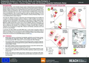 2020 MSNA in Dadaab Refugee Complex, Kakuma Refugee Camp, and Kalobeyei Integrated Settlement: Comparative analysis of food security needs and coping strategies