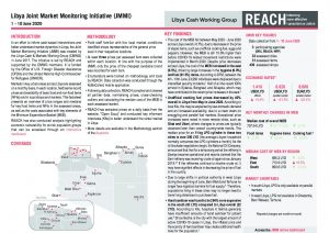Libya Joint Market Monitoring Initiative, Situation Overview June 2020
