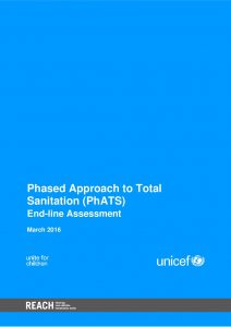 Phased Approach to Total Sanitation (PhATS) in Philippines: End-line Assessement
