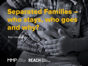 MENA_Presentation_Separated Families Key Messages_March 2017