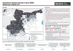 Humanitarian Situation Overview in Northwest Syria - September 2019