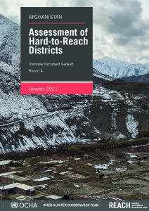 Assessments of Hard-to-Reach Districts, Nation-wide Factsheet, Afghanistan -January 2021