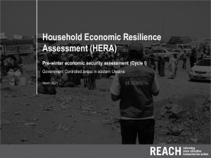 Household Economic Resilience Assessment (HERA) in Government Controlled Areas (GCA) of Donestk and Luhansk Oblasts, Eastern Ukraine, presentation – March 2021