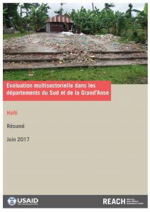 HTI_Executive Summary_Evaluation multisectorielle dans les départements du Sud et de la Grand'Anse_May 2017