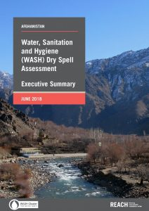 AFG_Executive Summary_WASH Dry Spel lAssessment_June 2018