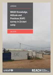 JOR_Report_Zaatari_WASH_KAP_July2019