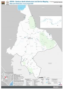 REACH KEN MAP SamburuNorth Infrastructure and service mapping water August2020 A1
