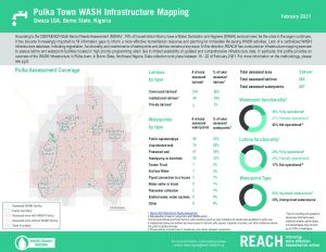 WASH Infrastructure Mapping Factsheet, Pulka Town - February 2021