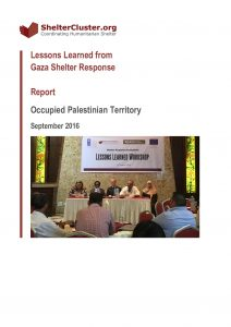 OPT_Report_Lessons Learned from the Gaza Shelter Response_October 2016