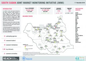 South Sudan – Joint Market Monitoring Initiative (JMMI) – December 2019 – Factsheet