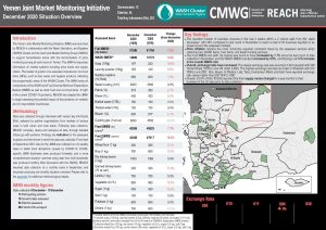 Yemen Joint Market Monitoring Initiative, Situation Overview - December 2020