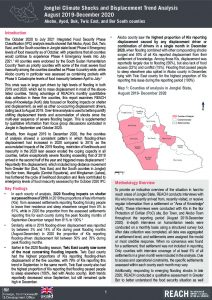 Jonglei AoK Climate Displacement Trend Analysis, August 2019 - December 2020 Brief