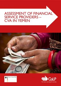 Assessment of Financial Service Providers and Cash & Voucher Assistance in Yemen