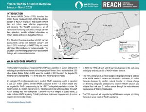 Yemen WANTS Situation Overview, January-March 2021 (EN)