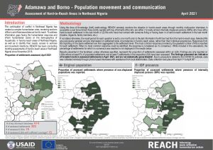Hard-to-Reach Assessment in Northeast Nigeria: Population Movement and Communication factsheet - April 2021