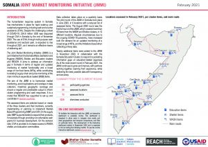 Somalia Joint Market Monitoring Initiative (JMMI) Situation Overview - February 2021