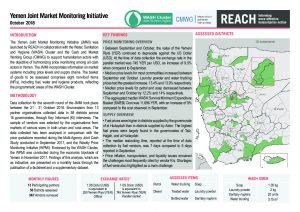 REACH_YEM_Situation Overview (JMMI)_October2018