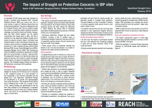 REACH_SOM_Factsheet_Protection_Assessment_Ayaha 4 IDP Site_Hargeysa