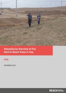 IRQ_Situation Overview_Humanitarian Overview Hard To Reach_December 2016
