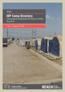 Iraq_Factsheet_IDP_Camp Profile Round X_August2018