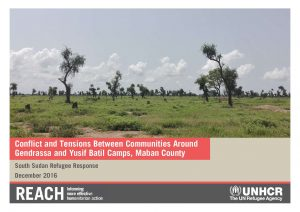 SSD_Report_Conflict and Tensions between Communities around Gendrassa and Yusif Batil Camps, Maban County_December 2016