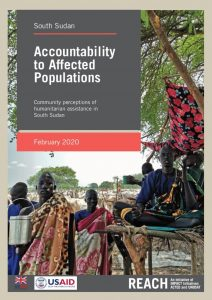 Accountability to Affected Populations: Community Perceptions of Humanitarian Assistance in South Sudan