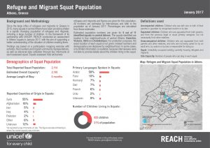 REACH_GRC_Factsheet_Urban Refugee and Migrant Squat Population in Athens_January 2017