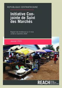 Joint Market Monitoring Initiative (JMMI) 5 months report, Central African Republic – July-November 2020