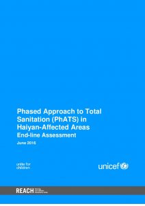 PHL_Report_Phased Approach to Total Sanitation (PhATS) End-line Assessment_March 2016