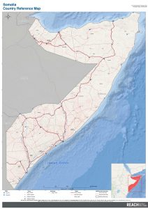REACH SOM map Somalia Reference_Map A0 portrait en