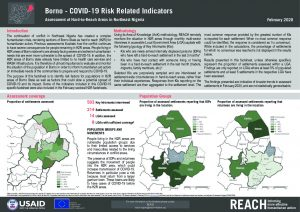 Hard-to-Reach COVID-19 Factsheet, Borno State, Nigeria, Feb 2020