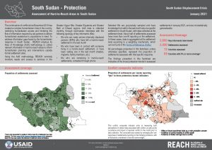 REACH SSD Factsheet Assessment of Hard to Reach Areas Protection Jan 2021