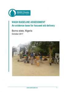 NGA_Report_WASH Baseline Assessment in Borno State_October 2017