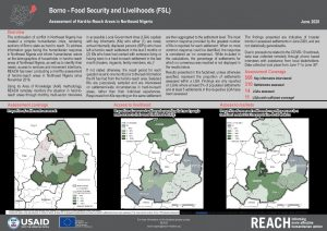 Hard-to-Reach FSL situation in Borno state, Nigeria - June 2020