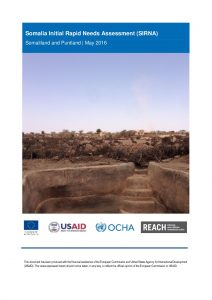SOM_Report_SIRNA for Drought in Puntland and Somaliland_May 2016
