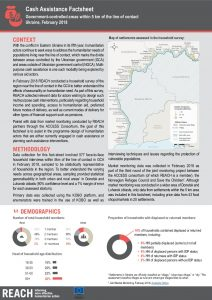 UKR_Factsheet_Winter Assessment Cash Assistance_February 2018