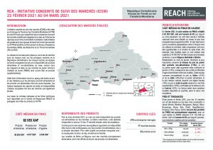 Joint Market Monitoring Initiative (JMMI) factsheet, Central African Republic – February 2021