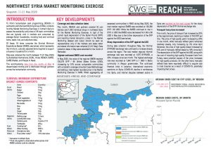 Northwest Syria Market Monitoring Situation Overview, May 2020