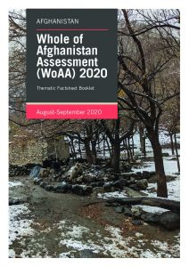 Whole of Afghanistan Assessment 2020 Thematic Factsheets