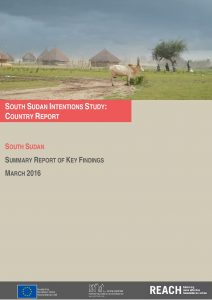 SSD_Report_IDP Intentions Study_March 2016