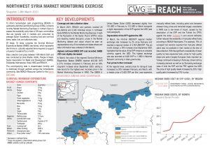 Northwest Syria Market Monitoring Situation Overview – March 2021