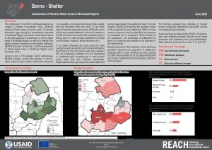 Hard-to-Reach Shelter situation in Borno state, Nigeria - June 2020