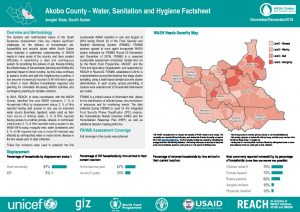SSD_WASH Baseline Factsheets_Greater Upper Nile_November-December 2018
