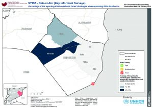 SYR_MAP_SNFI 2018 Access to NFIs Distribution Deir Ez Zor_28Jan2019_A4