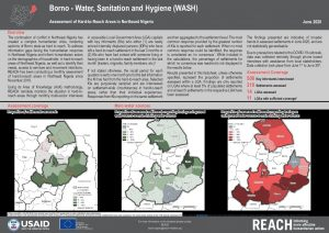 Hard-to-Reach WASH situation in Borno state, Nigeria, June 2020