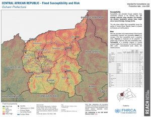 Ouham, CAR (Flood Risk Map 26JUNE2020)